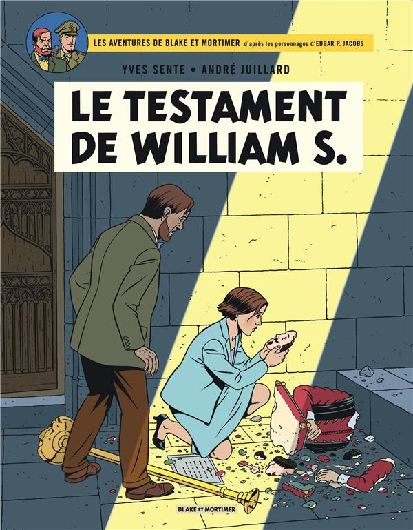 BLAKE ET MORTIMER T.24  -  LE TESTAMENT DE WILLIAM S.